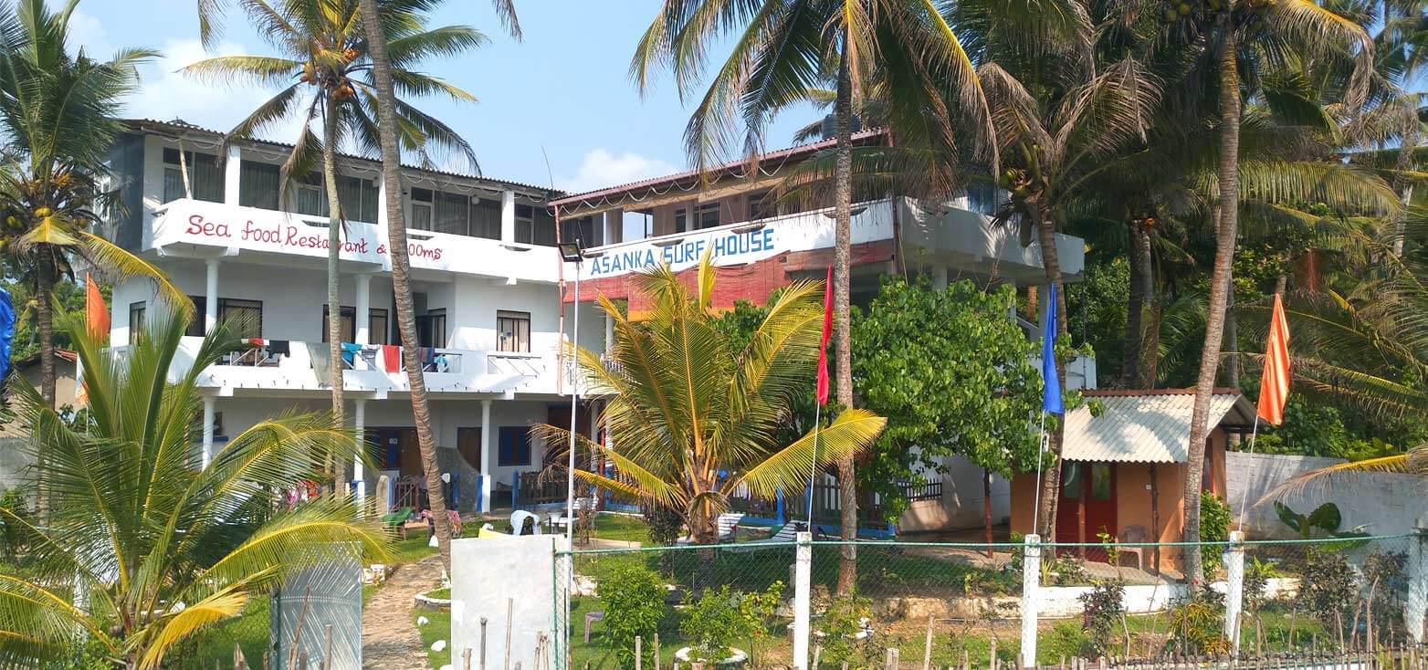 Surfcamp Asanka Surfhouse in Midigama, Provincia Sur, Sri Lanka
