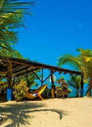 Panama beach bar