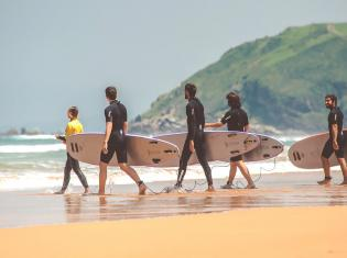 Surfcamp North Shore Surfcamp Zarautz in Zarautz, País Vasco, España