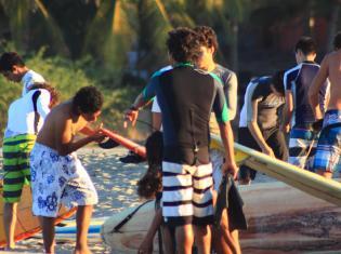 Surfcamp Puerto Escondido Surf House & Surf School in Puerto Escondido, Oaxaca, Mexico