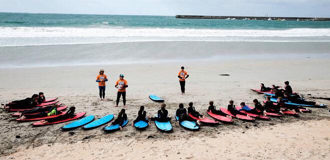 Clases de Surf en la playa | Nivel 1: Surfing Iniciación