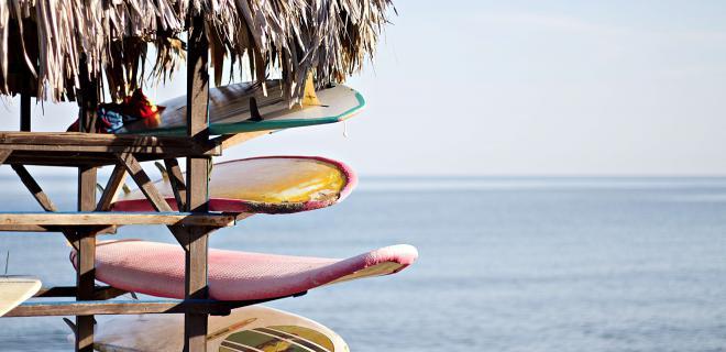tablas de surf de segunda mano