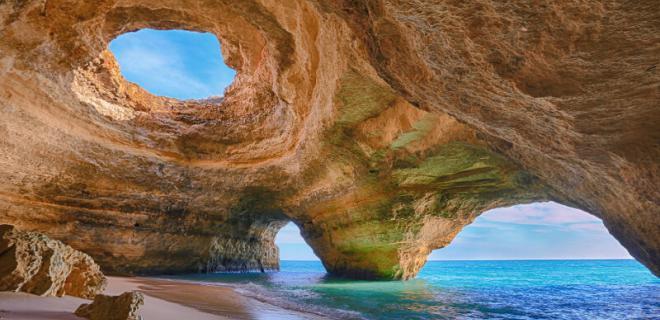 Algar de Benagil   Playa de Benagil   Lagoa, Faro (Algarve)   Portugal