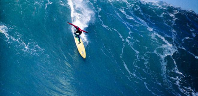 Brock Little | Mavericks 2000 | Foto: Doug Acton/Enciclopedia del Surf