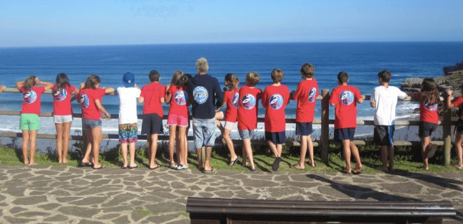 Surfcamp Escuela de Surf Los Locos in Suances, Cantabria, España