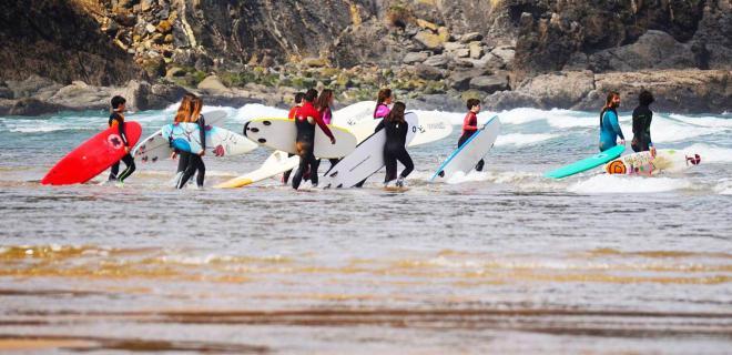 Surfcamp Laga Surf Camp in Ibarrangelu, País Vasco, España