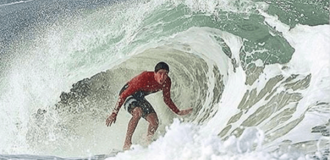 Surfista brasileño Miguel Pupo | Campeón del abierto de Sao Paulo y cuarto de las MQS de la WSL