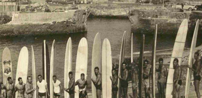 'Tontons surfers'   Biarritz - Francia   Años 60 - siglo XX