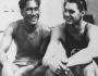 Duke Kahanamoku, surfista y nadador, y Johnny Weismuller, nadador y actor, 2 leyendas del siglo XX