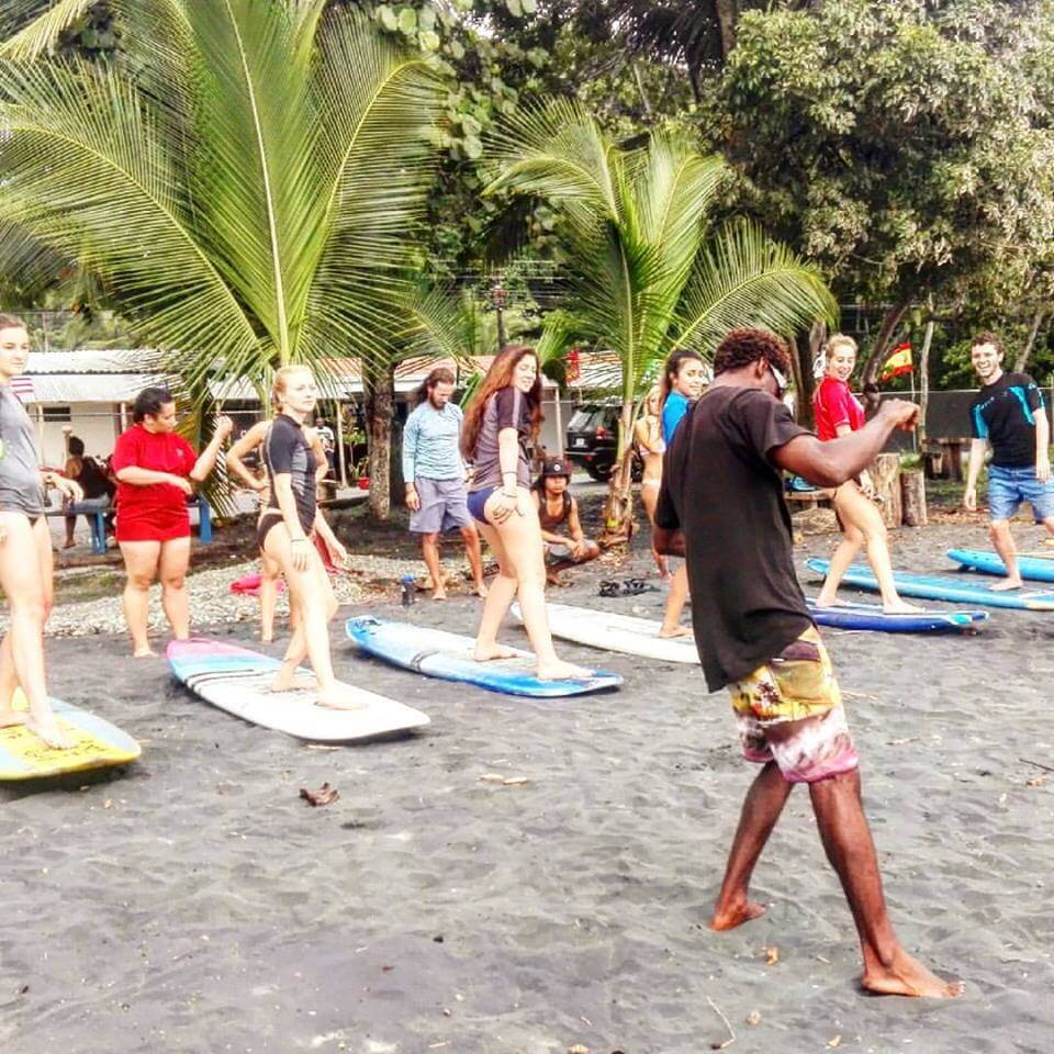 Surfcamp Carribean Surf School in citron, Costa Rica