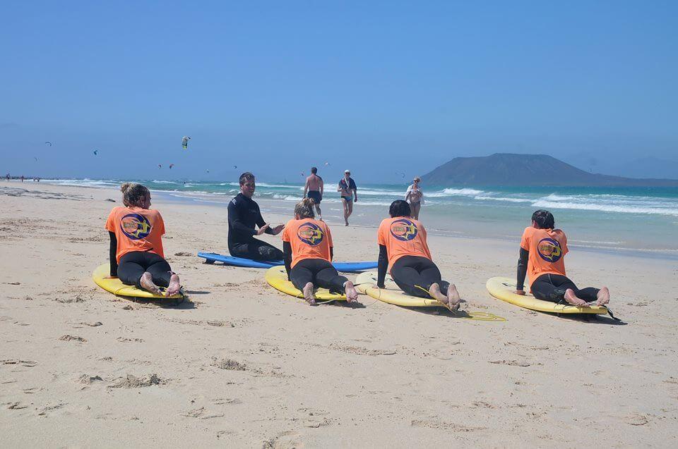 Surfcamp CANARY SURF  in Fuerteventura, Canarias, España