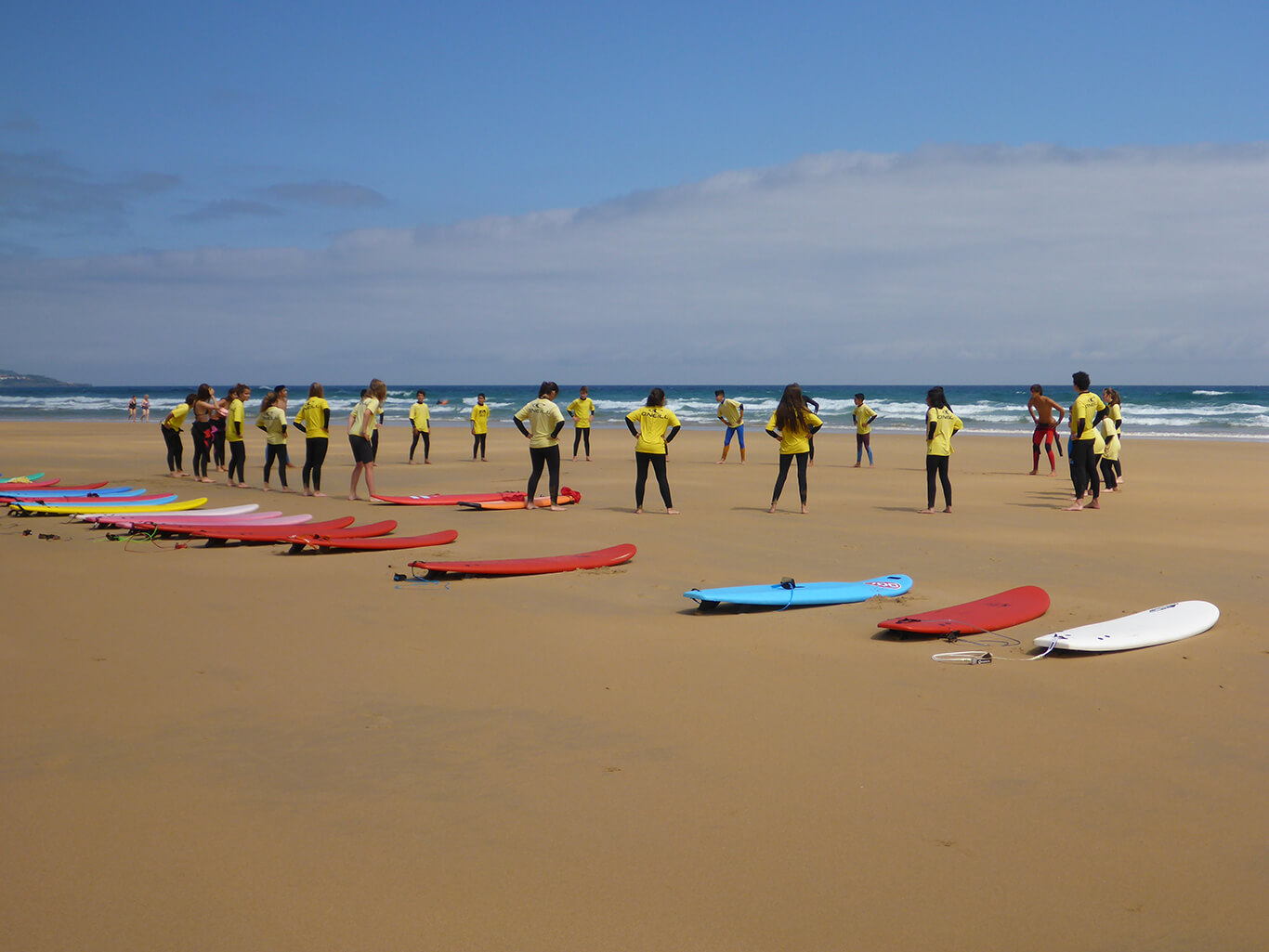 Surfcamp Irish Summer Camp in santoña, Cantabria, Spain