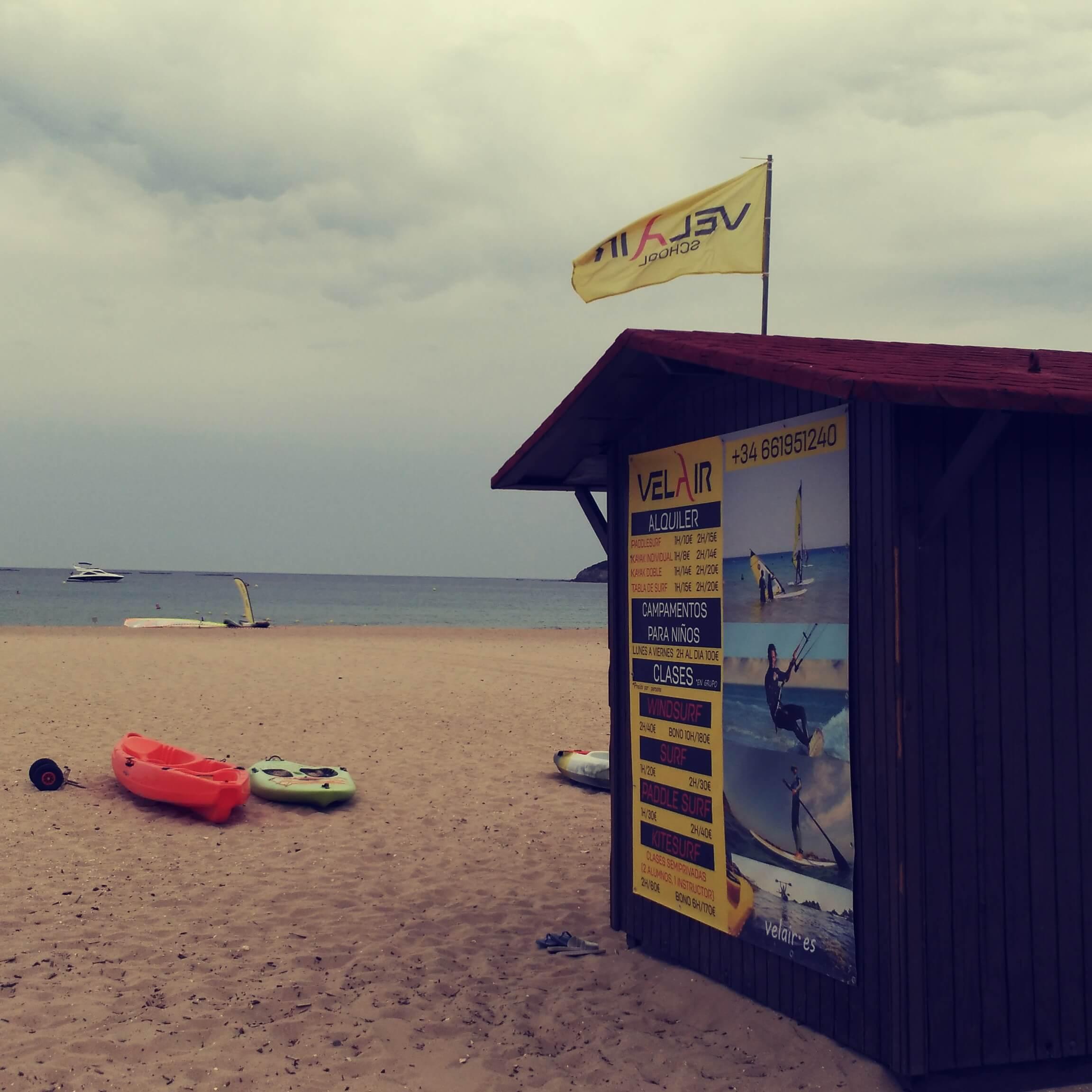 Surfcamp VELAIR GETARES in Tarifa, Andalucia, España