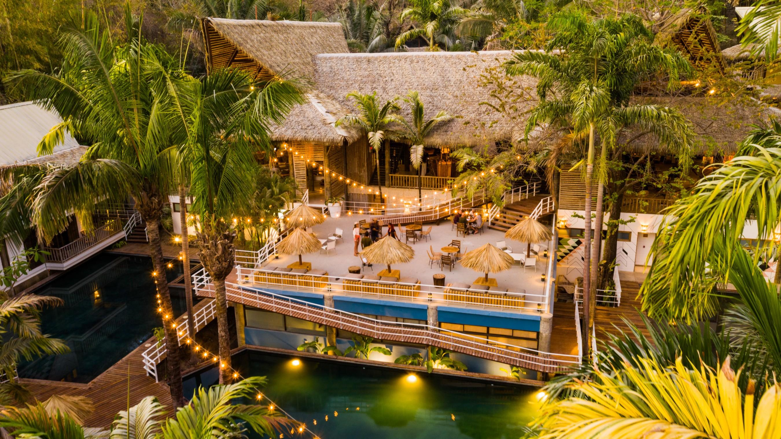 Surfcamp SELINA SURF CLUB NOSARA in Nosara, Guanacaste, Costa Rica