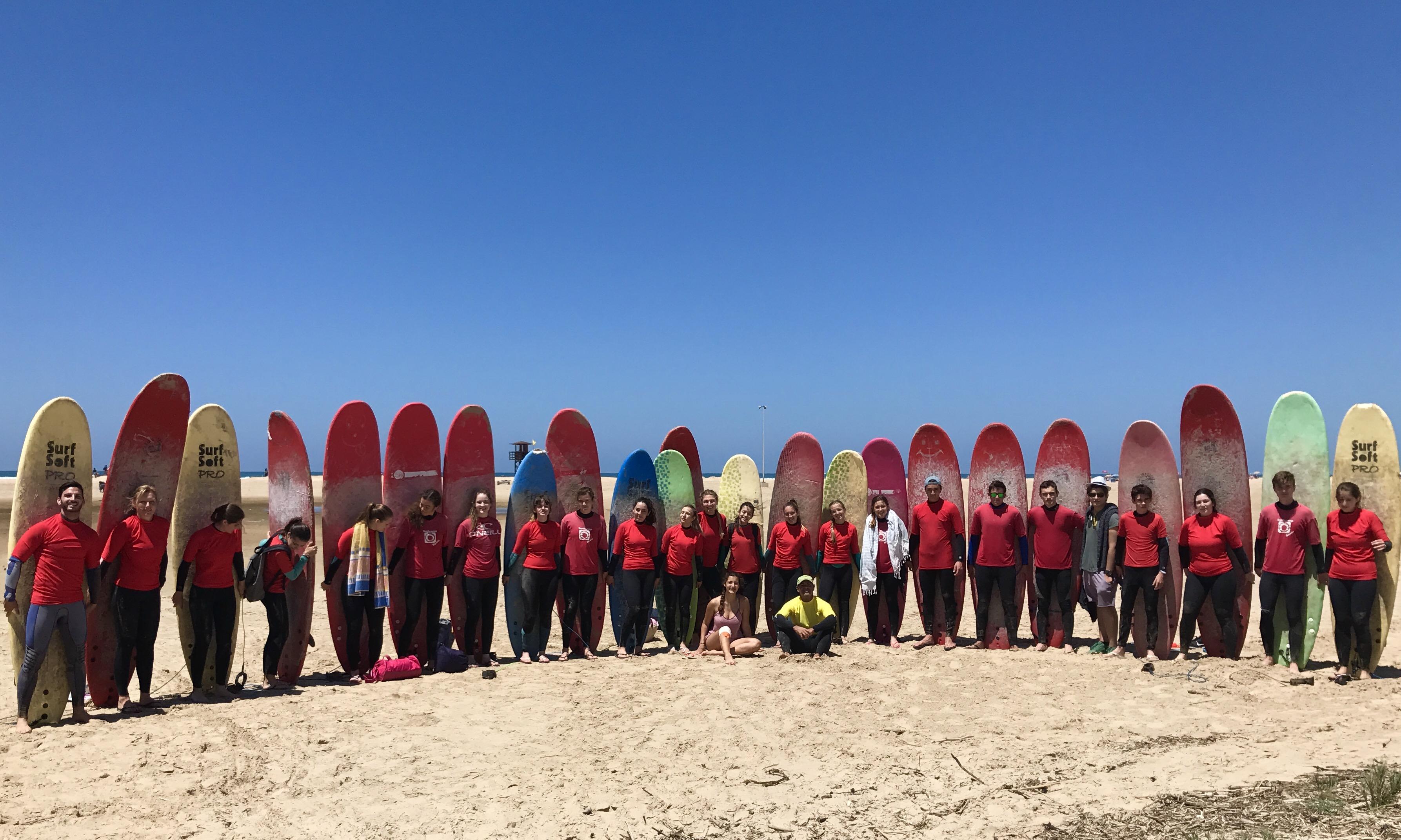 Surfcamp Surfschool Conil in Conil de la Frontera, Andalusien, Spanien