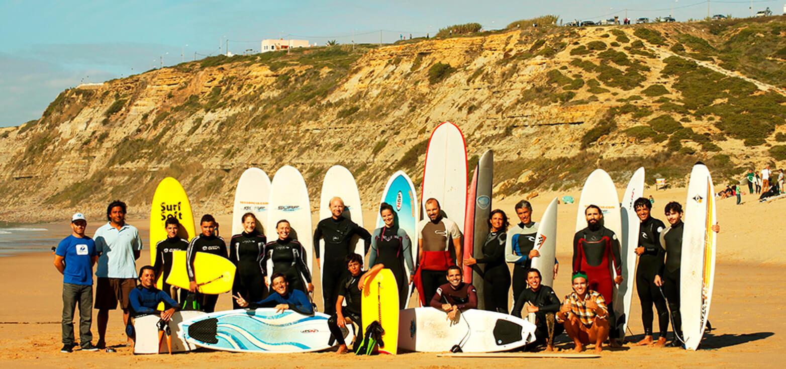 Surfcamp 7ª Essência Escola de Surf & Bodyboard in Cascais, Lisboa, Portugal