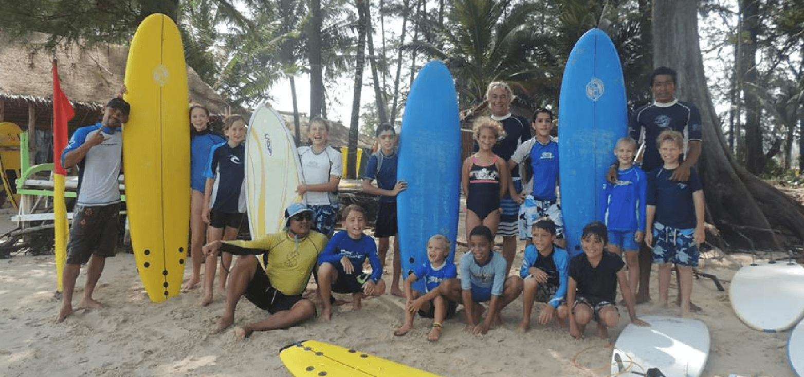 Surfcamp Saltwater Dreaming Surf School in Thalang, Phuket, Tailandia