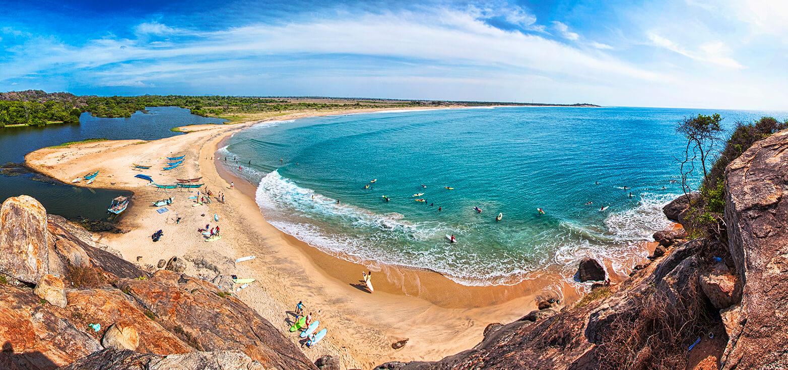 Surfcamp Mambo's Hotel in Arugambay Bay, Provincia del Este, Sri Lanka