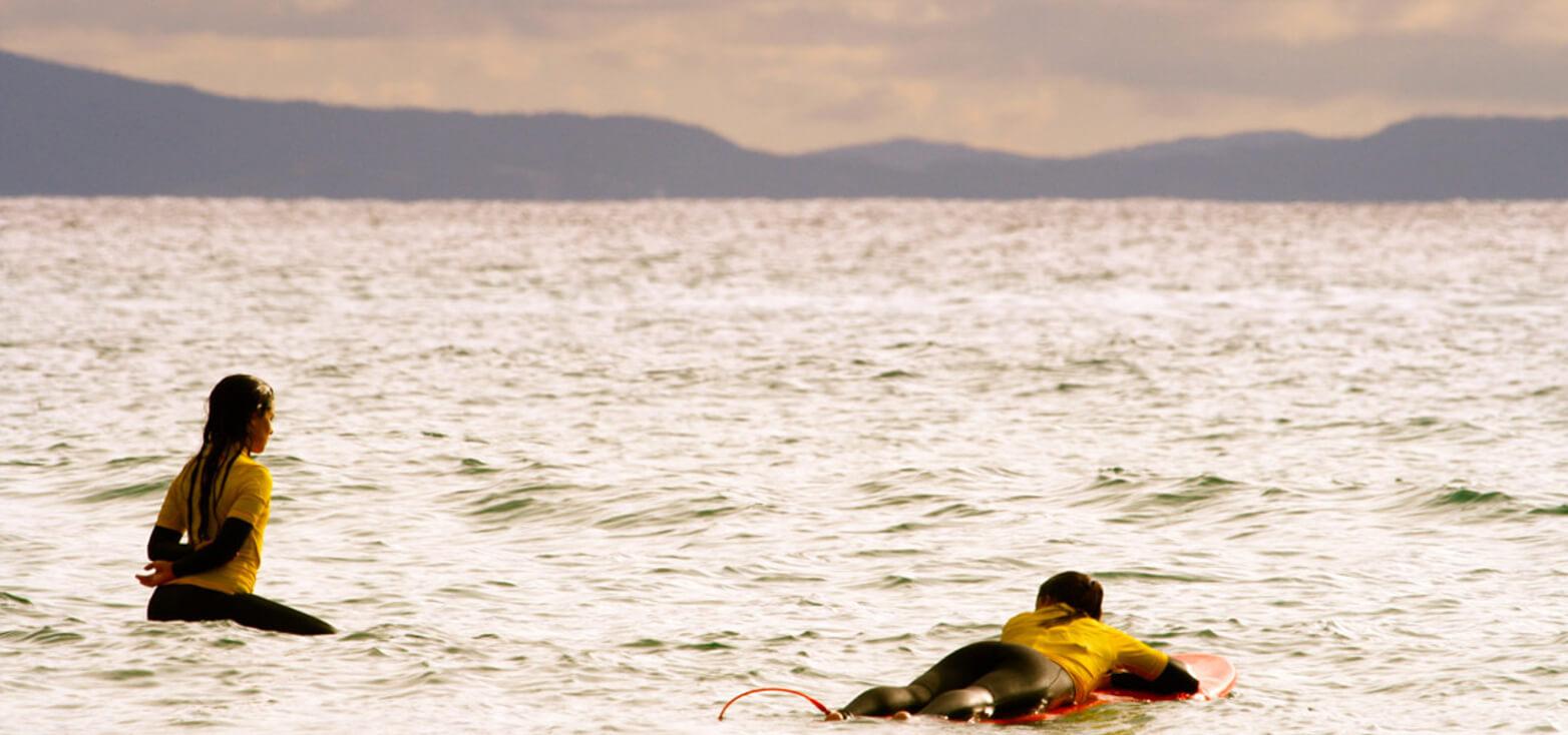 Surfcamp The Camp Doniños in Ferrol, Galicia, España