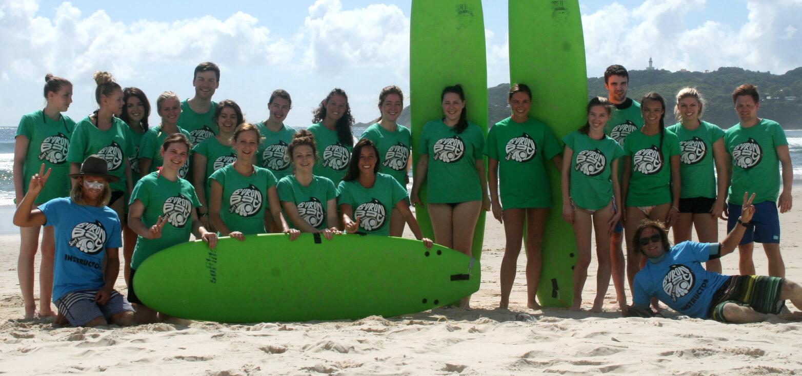 Surfcamp Byron Bay Surf School in Byron Bay, Nueva Gales del Sur, Australia