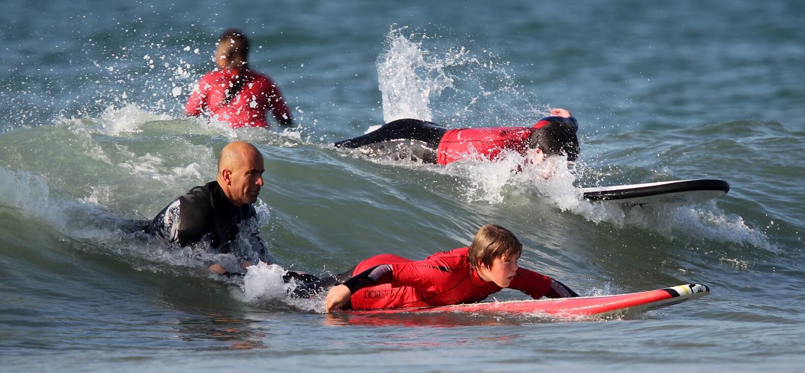 Surfcamp Carcavelos Surf School in Cascais, Lisboa, Portugal