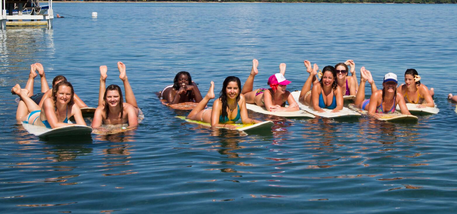 Surfcamp Chica Surf Adventures in Bocas del Toro, Bocas del Toro, Panamá