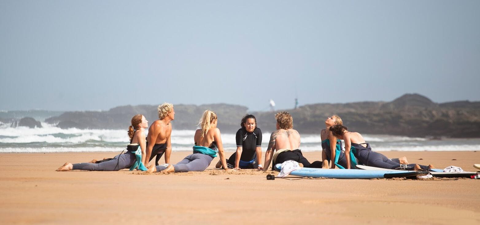 Surfcamp Arrifana Surf Lodge in Aljezur, farol, Portugal