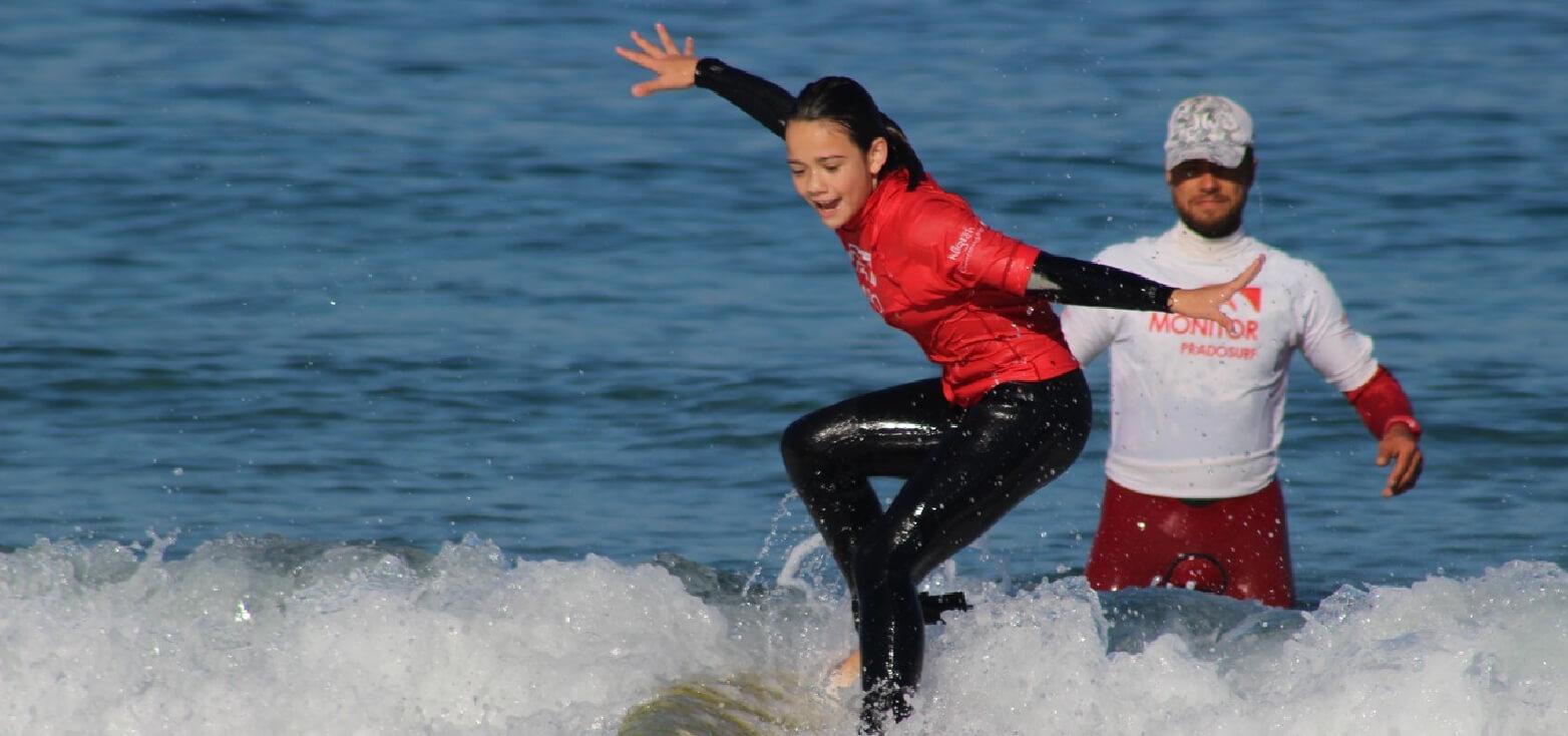 Surfcamp Prado Surf Escola Sabón in Arteixo, Galicia, España