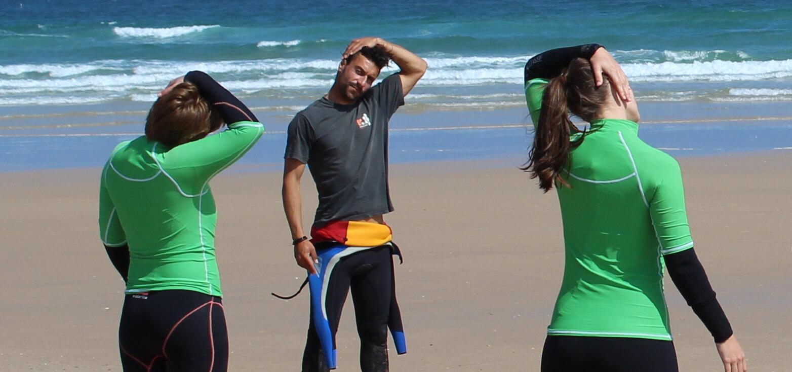 Surfcamp Tribo do Mar Surf School in Peniche, Leiria, Portugal