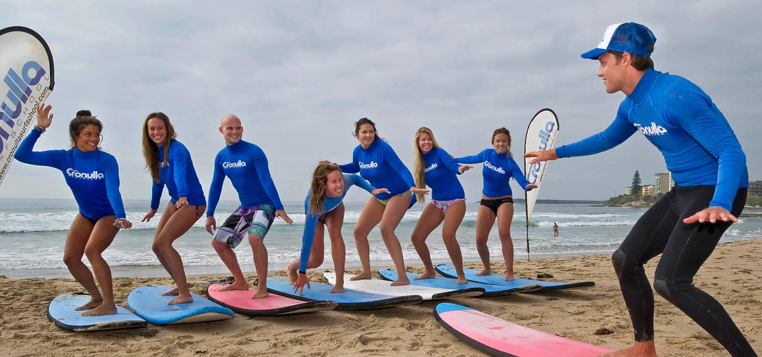 Surfcamp Cronulla Surf School in Sidney, Nueva Gales del Sur, Australia