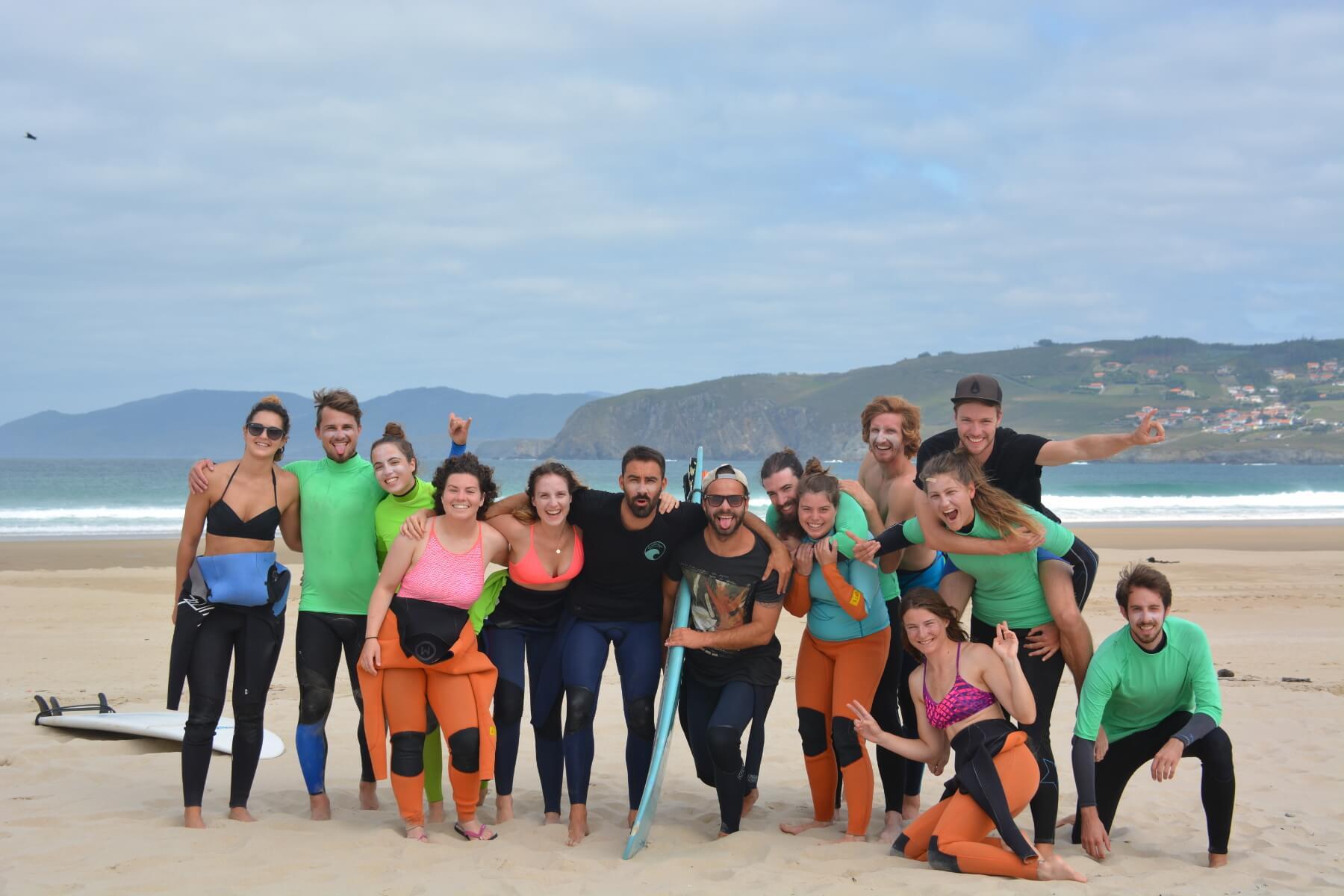 Surfcamp Nordes Surfhouse in Ferrol, Galicia, Spain