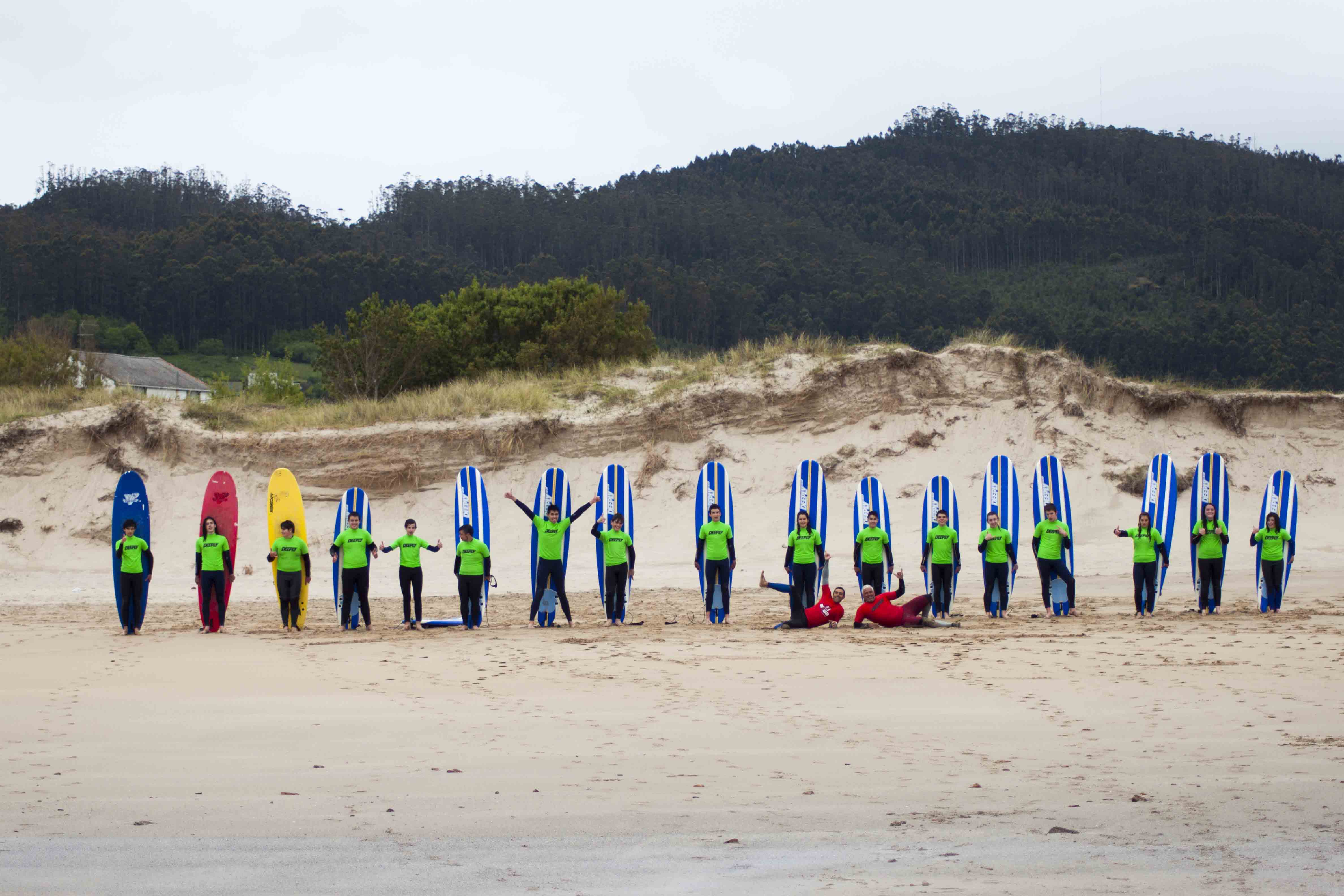 Surfcamp Alawa Surf Camp in Valdoviño, Galicia, España