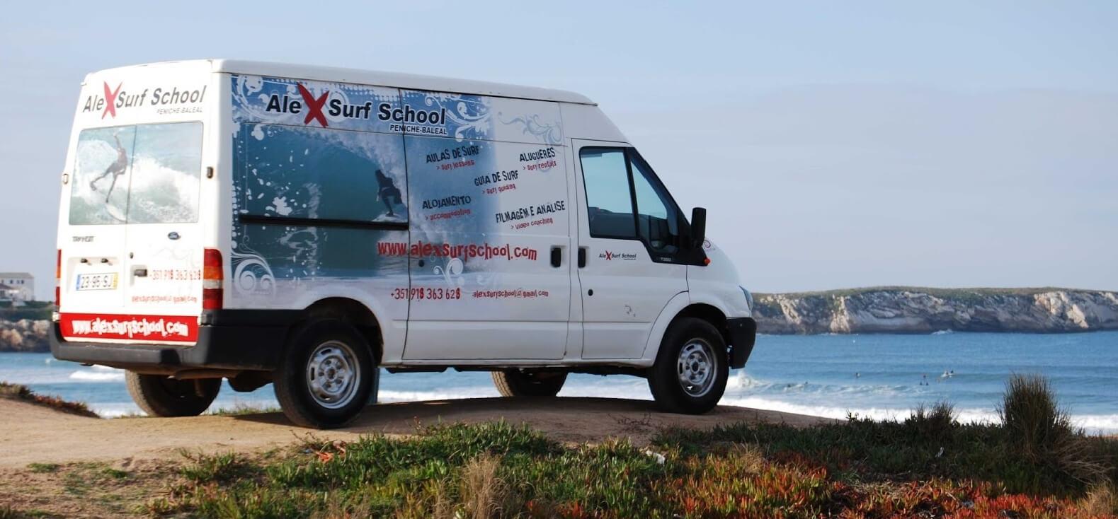 Surfcamp Alex Surf School in Peniche, Leiria, Portugal