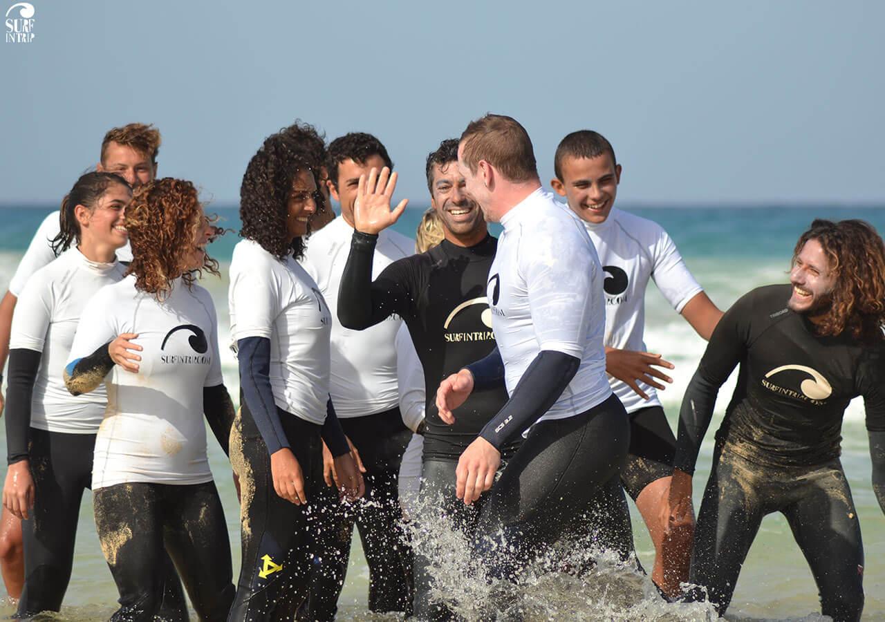 Surfcamp Surfintrip Academy&Camp in Fuerteventura, Canary Islands, Spain