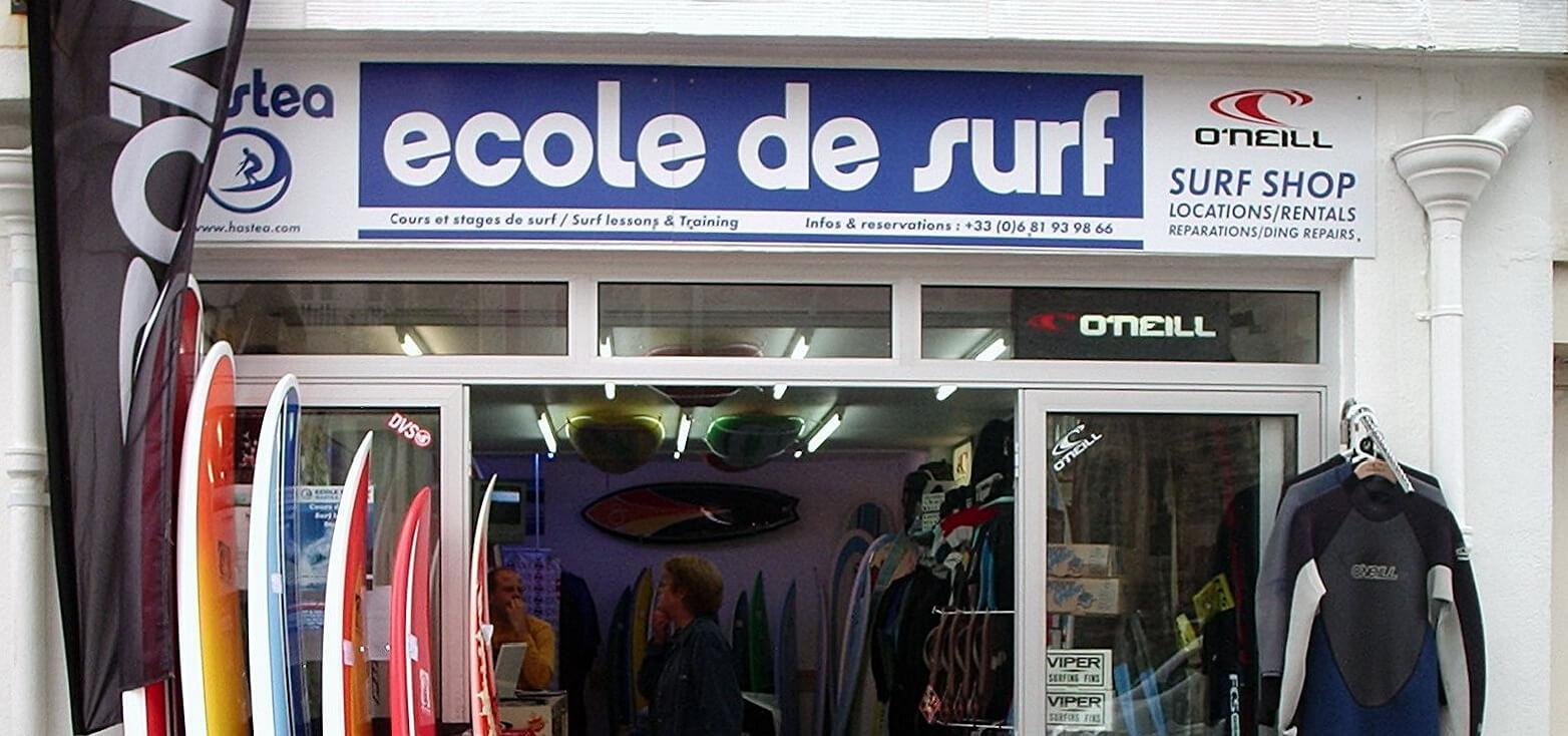Surfcamp Hastea Surf School Biarritz in Biarritz, Bayona, Francia