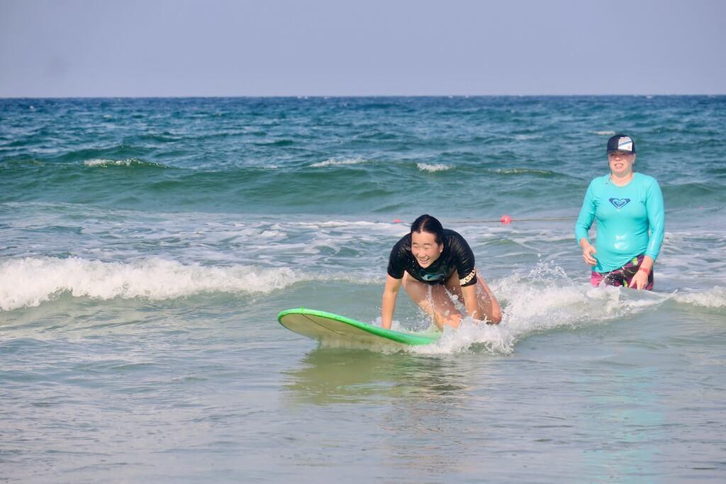 Surfcamp Da Nang Outdoor Adventures in da Nang, They are Tra, Vietnam