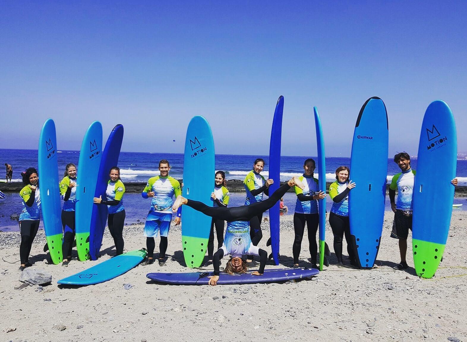Surfcamp JAGGA SURF CAMP in Tenerife, Canarias, España