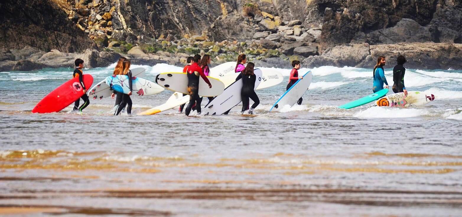 Surfcamp Laga Surf Camp in Ibarrangelu, País Basco, Espanha