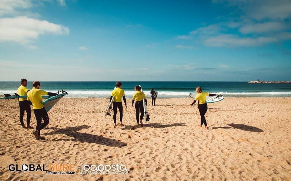 Surfcamp Global Surf School & Camp in Peniche, Leiria, Portugal