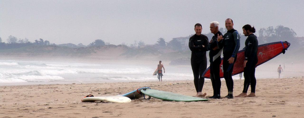 Surfcamp Loredo Surf School in Ribamontan al Mar, Cantabria, España