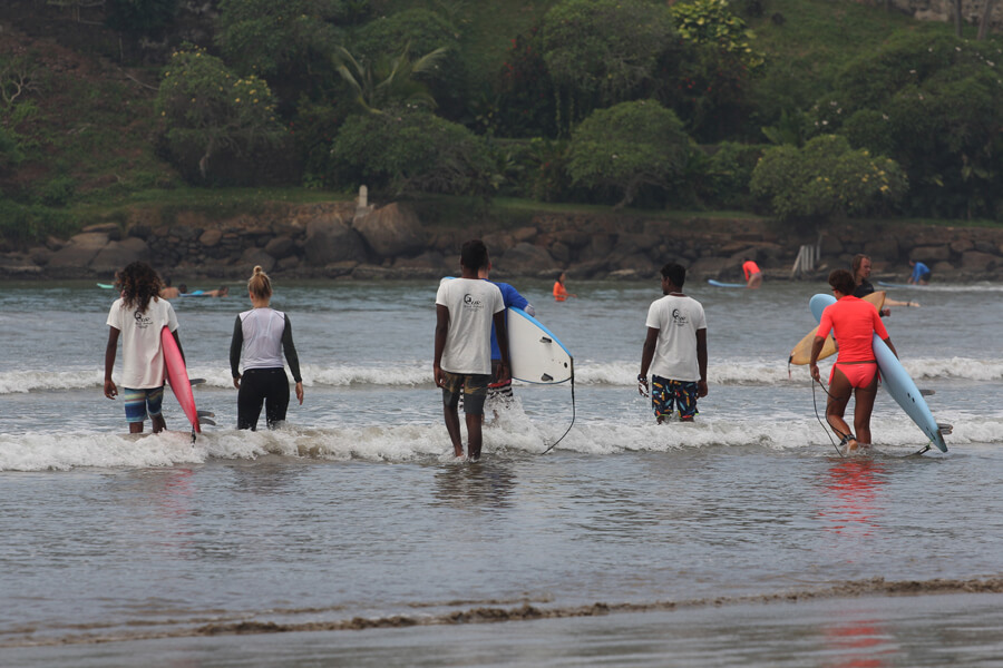 Surfcamp UR SURF SCHOOL in Hikkaduwa, Southern province, Sri Lanka
