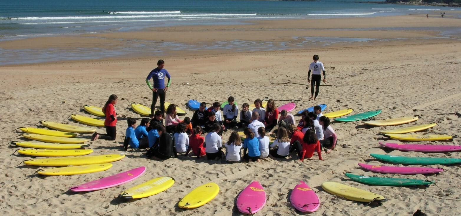 Surfcamp Mistic Spot Surf Club in Málaga, Andalucia, España