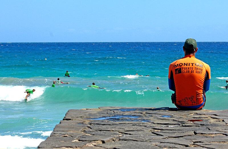Surfcamp Fuerte Tribu Club de Surf in Fuerteventura, Canarias, España