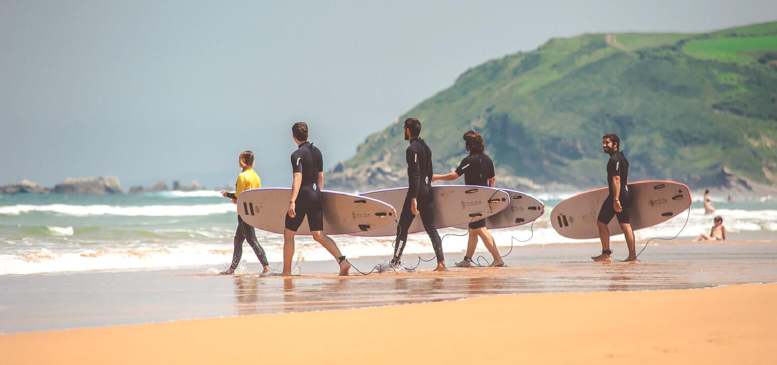 surf schools at spain | totalsurfcamp