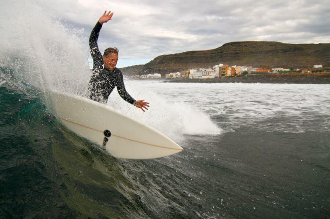 Surfcamp Surf Camp Las Palmas in Gran Canaria, Canarias, España
