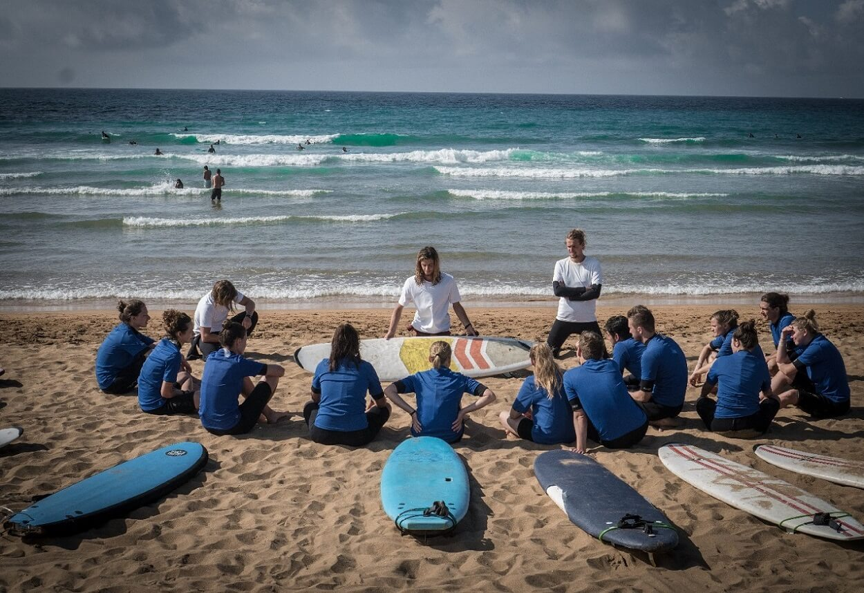 Surfcamp San Sebastian Surf Camp - All-Inclusive in Zarautz, Basque Country, Spain