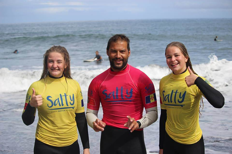 Surfcamp Salty - Madeira Water Activities in Porto da Cruz, Madeira, Portugal