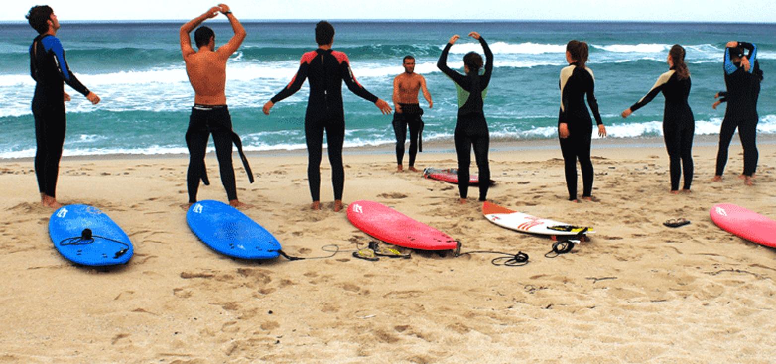 Surfcamp 7 Feet Surf Camp in Carballo, Galicia, España