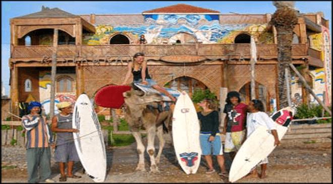 Surfcamp Sidi Kaouki Surfclub in Sidi Kaouki, Esauira, Marruecos