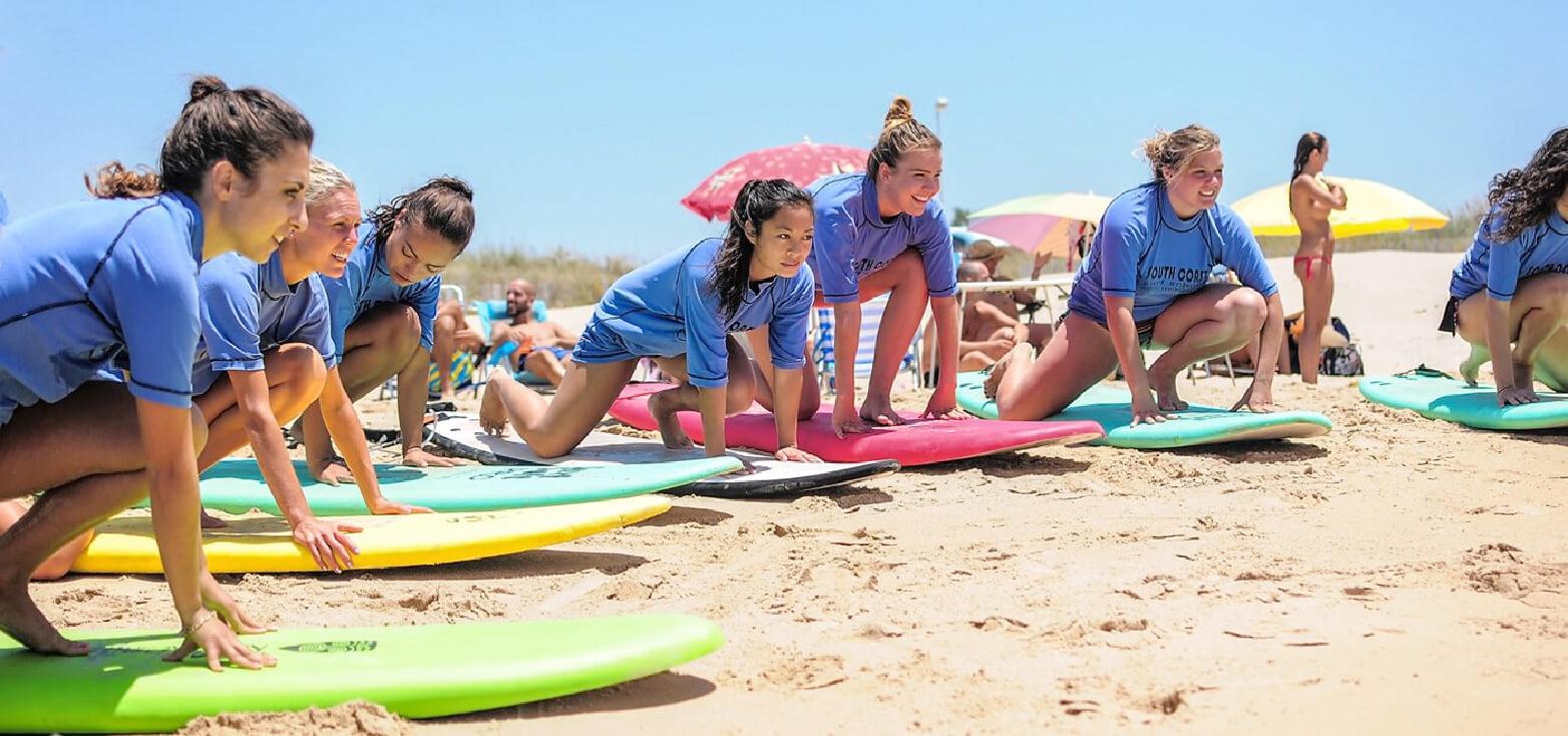 Surfcamp South Coast Surf School & Camp in Vejer de la Frontera, Andalucia, España